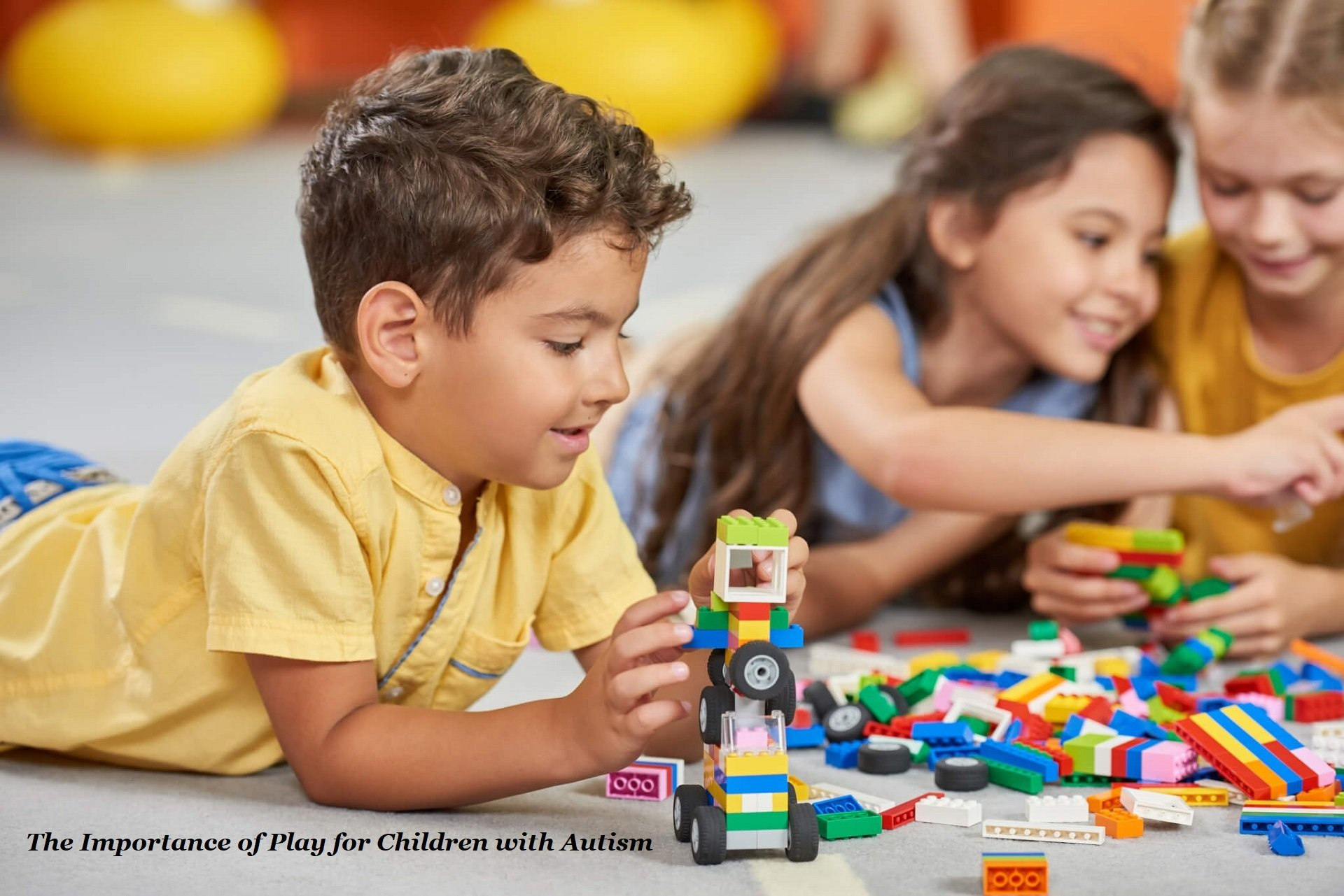 Lego Kids-Playing-Block-Toys-In-Pla-350958596 with text